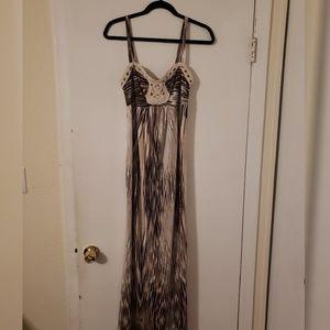 Womens Soma Dress M Strapless sundress